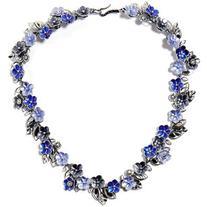 Bottega Veneta Enameled silver necklace