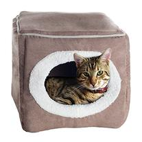 PETMAKER Enclosed Cube Pet Bed
