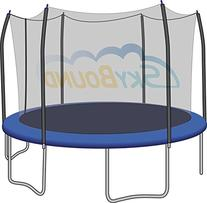 15ft Trampoline Safety Enclosure Net for Trampolines with
