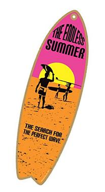 """The Endless Summer - The search for the perfect wave  5"""" x"""