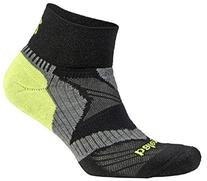 Balega Enduro V-Tech Quarter Running Sock Black/Grey/N
