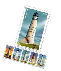 New England Coastal Lighthouses Sheet of 20 Stamps