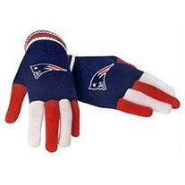 New England Patriots Multicolor Knit Gloves