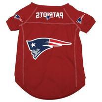New England Patriots Pet Dog Football Jersey Alt. Red LARGE