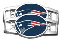 New England Patriots Tennis Shoe Charm Set