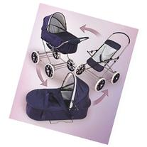 Badger Basket English Style 3 in 1 Doll Stroller
