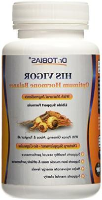 Dr. Tobias Male Enhancement - With Tongkat Ali, Horny Goat