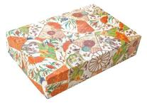 Entertaining with Caspari Paper Gift Boxes, 10-1/2 by 7 by 2