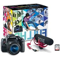 Canon EOS Rebel T6i Video Creator Kit with 18-55mm Lens,