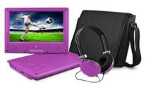 Ematic EPD909PR 9-Inch Portable DVD Player with Matching