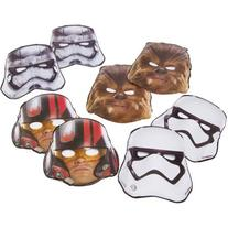 Star Wars Episode VII Masks, 8 Count, Party Supplies