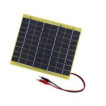 ECO-WORTHY 5W 12V Waterproof Epoxy Solar Panel Module