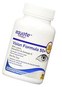 Equate Vision Formula 50+, 50ct, Compare to Ocuvite Adult 50