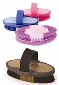 Equestria Oval Body Brush Size: Large , Color: Blue