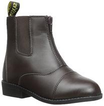 Saxon Equileather Ladies Zip Up Paddock Boot - Size 6.5