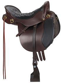 Tucker Equitation Brass Endur Saddle Wide 15.5 Brn