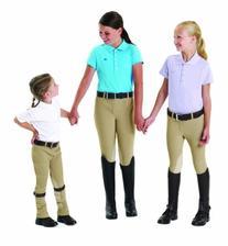 EquiTuff Kids PullOn KneePatch Breeches