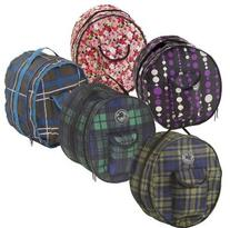 ER Centaur Plaid Helmet Bag - Size:One Size Color:Blue Corn
