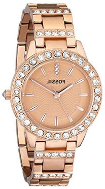 Fossil Women's ES3020 Jesse Rose Gold-Tone Stainless Steel
