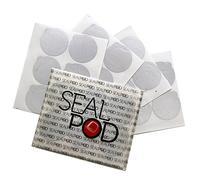 Sealpod Espresso Lids for Nespresso Reusable Capsules - Foil