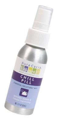 Aura Cacia Essential Solutions Mist, Chill Pill, 2 Fluid