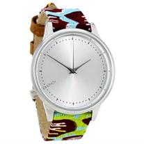 Komono Estelle Vlisco Silver Dial Ladies Watch W2850