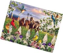 Buffalo Games Evening Meadow by The Hautman Brothers Jigsaw