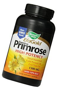 Nature's Way Evening Primrose Oil Cold Pressed 1300 Mg 120