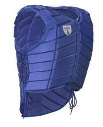 Tipperary Eventer Vest Youth Large Royal Blue