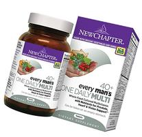 New Chapter Every Man's One Daily 40+, Men's Multivitamin