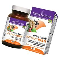 New Chapter Every Man's One Daily Multivitamin, Tablets, 96