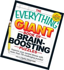 The Everything Giant Book Of Brain-Boosting Puzzles: Improve