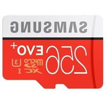 Samsung EVO+ 256 GB microSDXC - Class 10/UHS-I  - 95 MB/s
