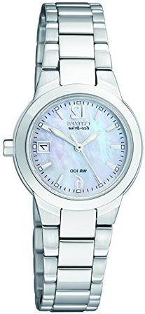 "Citizen Women's EW1670-59D ""Silhouette"" Stainless Steel Eco-"