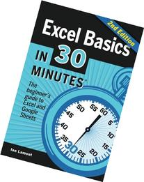 Excel Basics In 30 Minutes : The quick guide to Microsoft