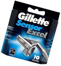Sensor Excel Refill Blades, 10 Count