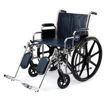 """Medline Excel Extra-Wide Wheelchair, 22"""" Wide Seat, Desk-"""