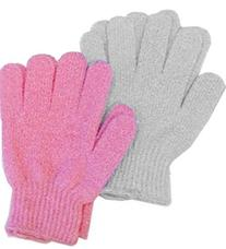 Aquasentials Exfoliating Bath Gloves