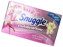 Snuggle Exhilarations Fabric Softener Dryer Sheets, Wild