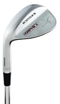 Tour Edge Men's EX CB Pro S Golf Wedge, Right Hand, Steel,