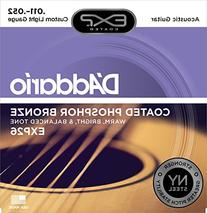 D'Addario EXP26 with NY Steel Phosphor Bronze Acoustic