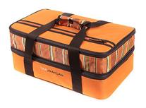Rachael Ray Expandable Lasagna Lugger, Orange