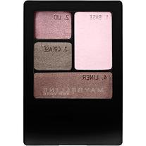 Maybelline Expert Wear Eyeshadow Quad, Lavender Smokes, .17