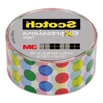"* Expressions Magic Tape, 3/4"" x 300"", Dots"