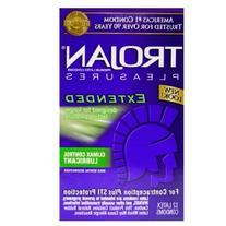 Trojan Extended Pleasure Lubricated: 36-Pack of Condoms