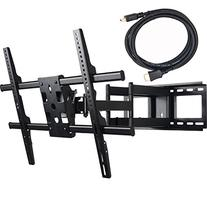 VideoSecu 25 inch Extension Heavy Duty Dual Arm Articulating