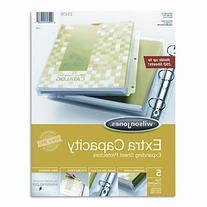Wilson Jones Extra Capacity Sheet Protector, 5/Pack, Total 3