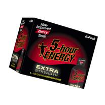 5-Hour Energy Extra Strength Dietary Supplement Shot Berry