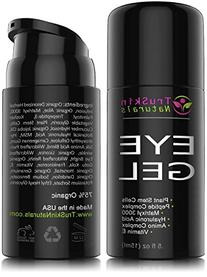 Eye Gel for Wrinkles, Fine Lines, Dark Circles, Puffiness &