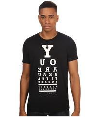 Life is Beautiful - Eye Test - Crew Neck Tee  T Shirt